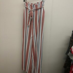 Forever 21 wide leg Pants with Tie